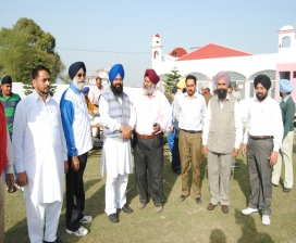 M.l.a. S. Jagjivan Singh Khirnia Welcome To Indian Boxing Team & Cheif Coach S. Gurbax Singh Sandhu In Shahi Sports