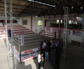 Shahi Sports Boxing Ring Is Ready For Build Up Compitition To Qualifing For London Olympics