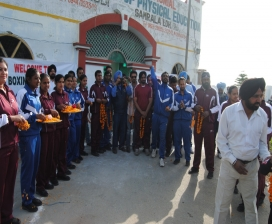 Welcome Of  Indian Boxers To Build Up Compitition Before London Olympics In Shahi Sports